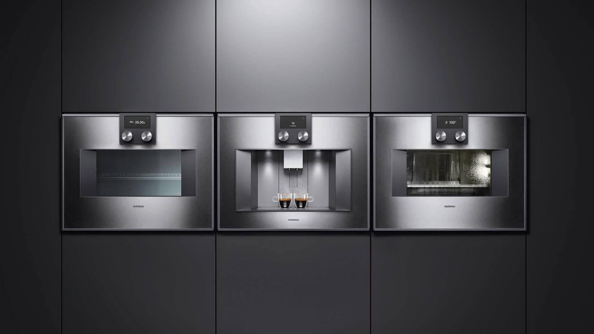 Gaggenau Einbaugeräte - Küchenstudio Raab Stuttgart