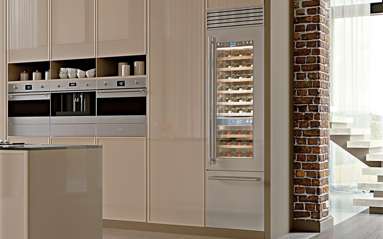 Smeg Kühlschrank Hellgrau : Hersteller küchen raab stuttgart