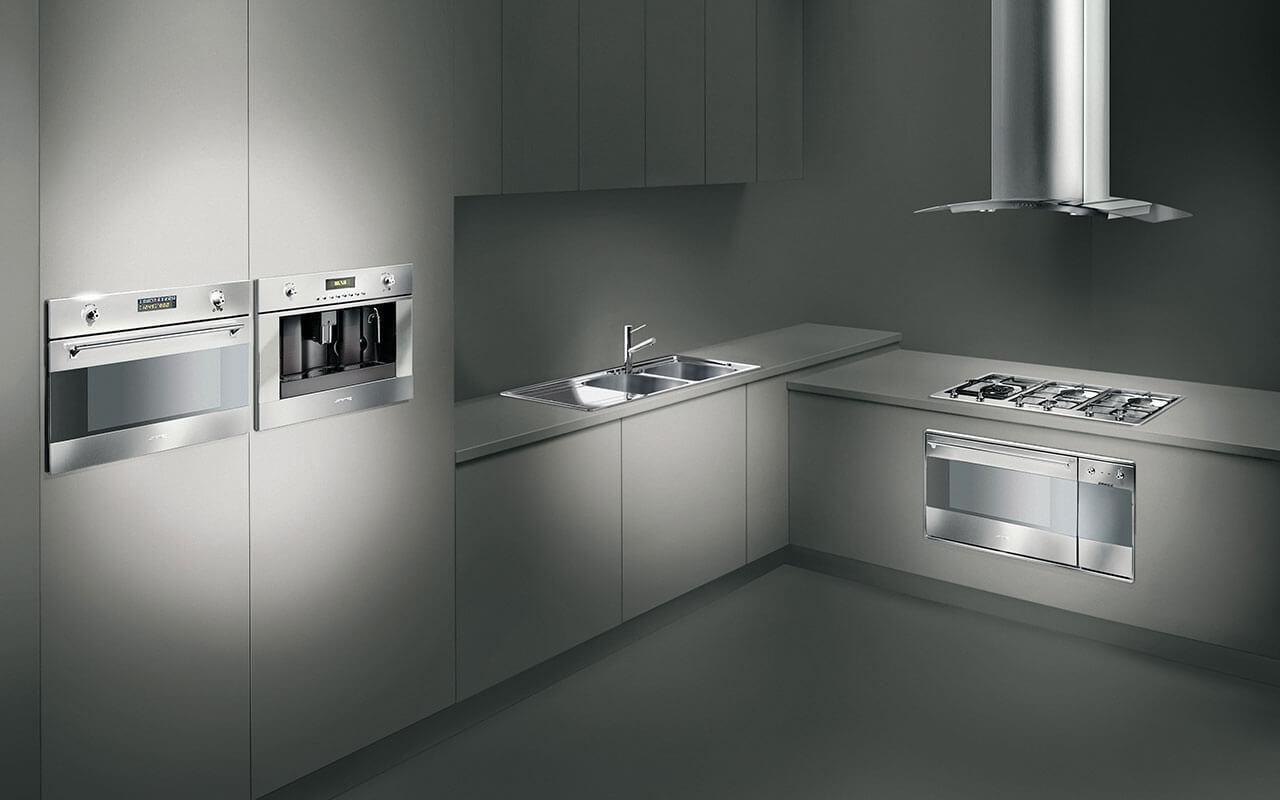 Smeg Kühlschrank Hellgrau : Hersteller küchen raab stuttgart küchenstudio