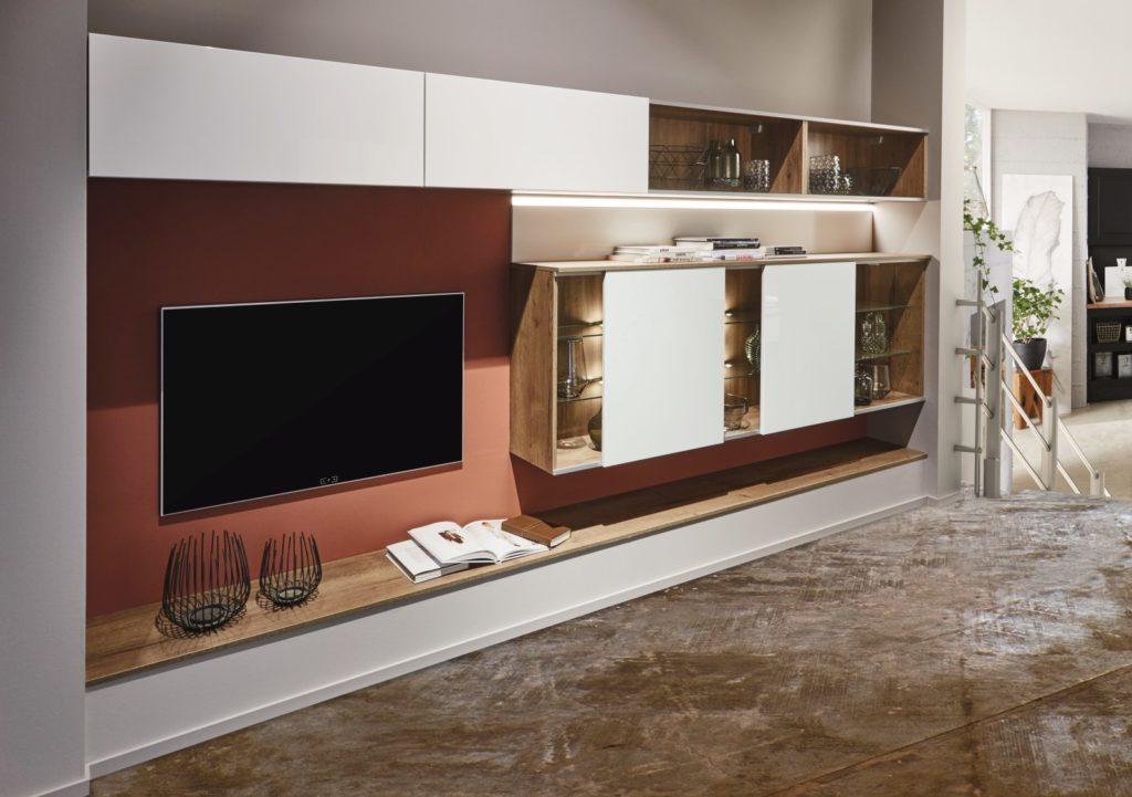 Wohnwand Lux Beispiel 2 - Küchen Raab Stuttgart