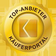 Siegel Top Anbieter Käuferportal