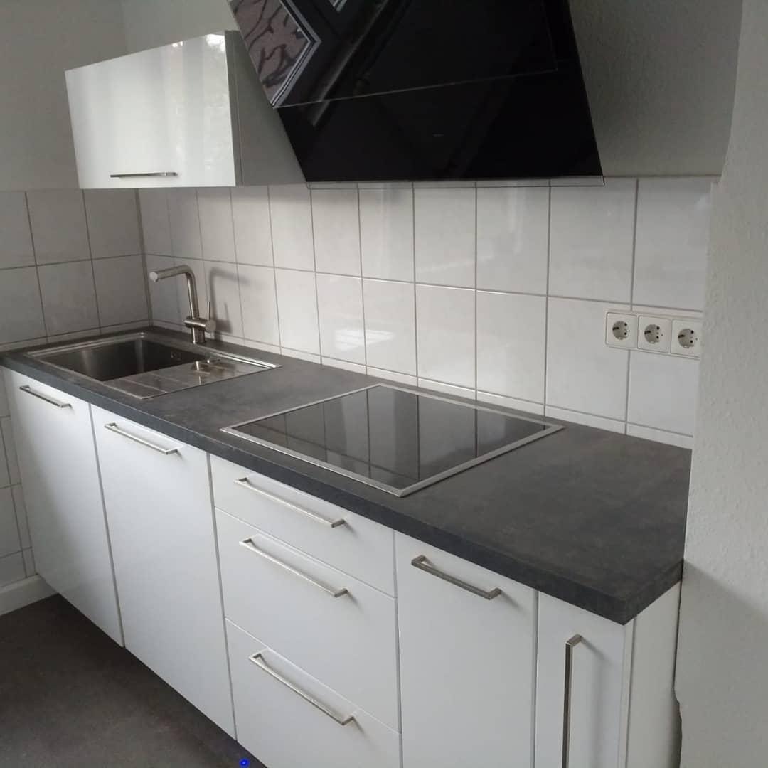 Falmec Küche weiss lack - Küchenstudio Raab Stuttgart Referenzen 1