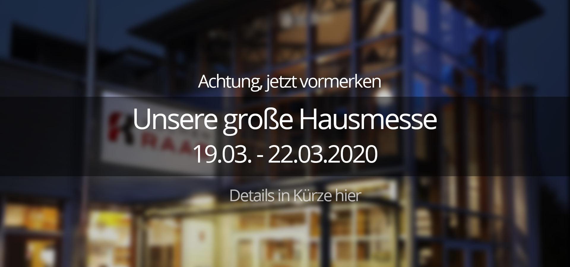 Küchen Raab Stuttgart Hausmesse 2020