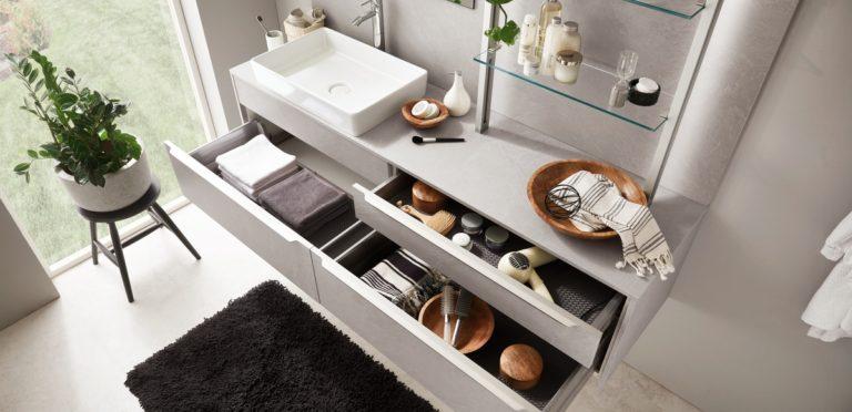 Inneneinrichtung Badezimmer Aufbewahrung - Küchenstudio Raab Stuttgart